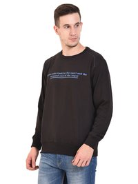 Mens Sweat Shirt (Black)