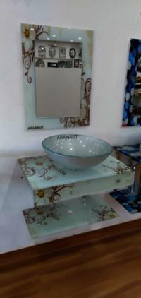 Glass Vanities Bathroom vanities