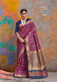 Latest Pure  Silk Saree