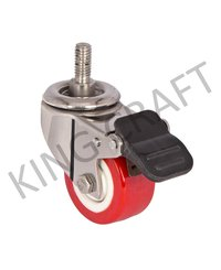 Die Pressed Caster Wheel