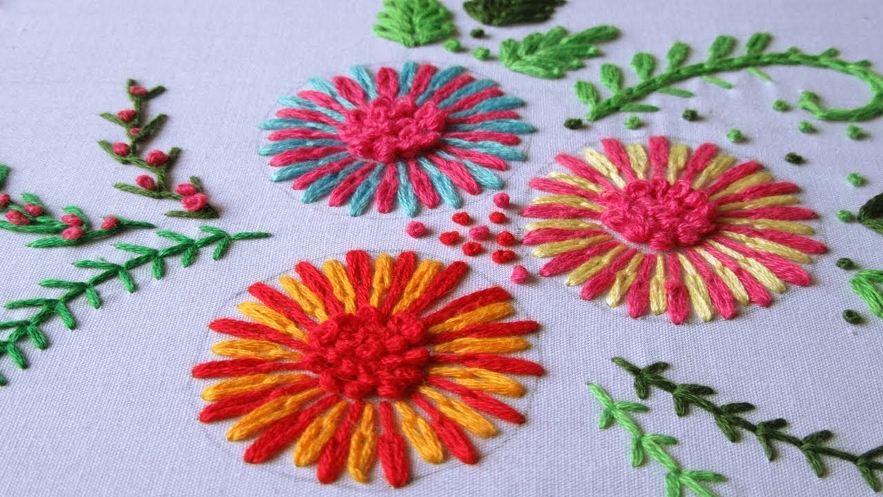 French Knot Stitch Hand Embroidery Service / French Knot Stitch Embroidery