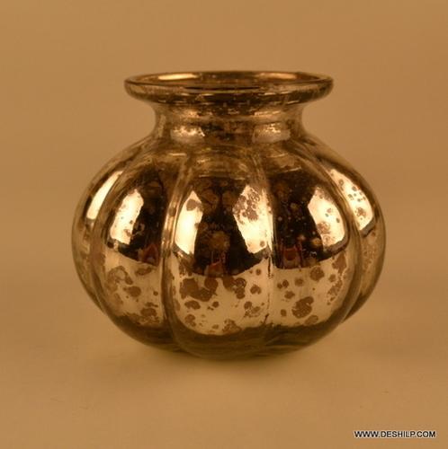 Silver Candle Holder Votive Glass Votive