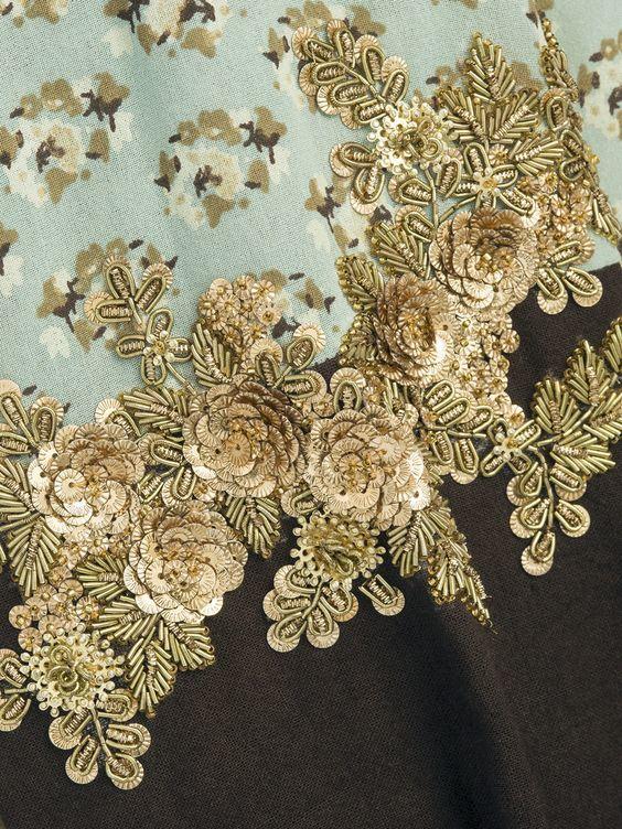 Custom Embroidery Sequin Fabric
