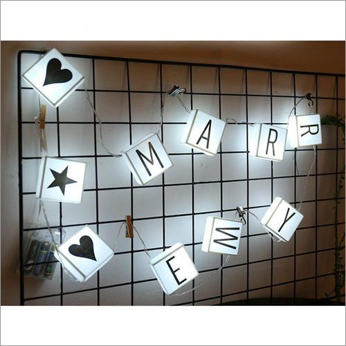 LED Letter Box String Light