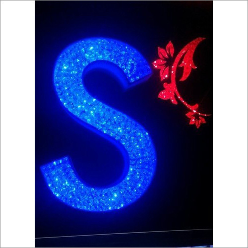 Crystal LED Acrylic Letter