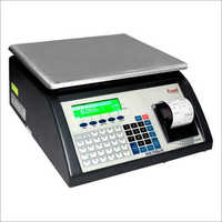 Automatic Bar Code Weighing Machine
