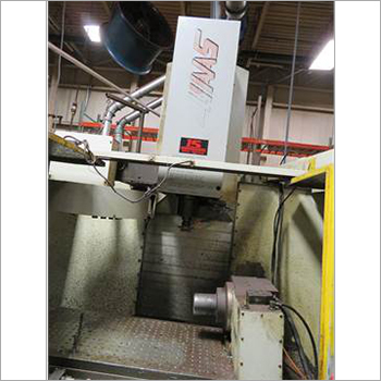 HAAS VMC With 4th Axis Machine