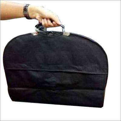 Suitcover with flap & buckle & foam handle.