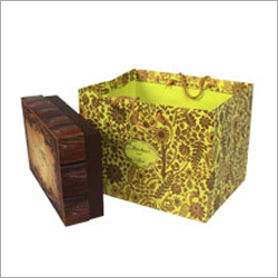 Printed Paper Box Bag