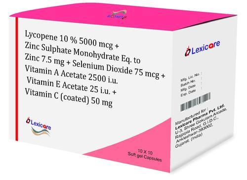 Silenium Dioxide Softgel Capsules
