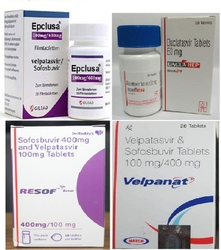 Sofosbuvir with velpatasvir Tablets