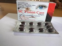 Astaxanthin and ALA and Bilberry and L-Glutathione and Lutein and Zeaxanthin and Vitamin and Minerals Softgel Capsules