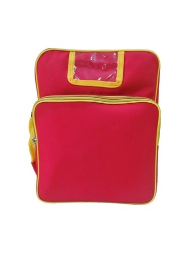 Red kids bag
