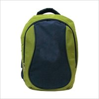 Green kids bag