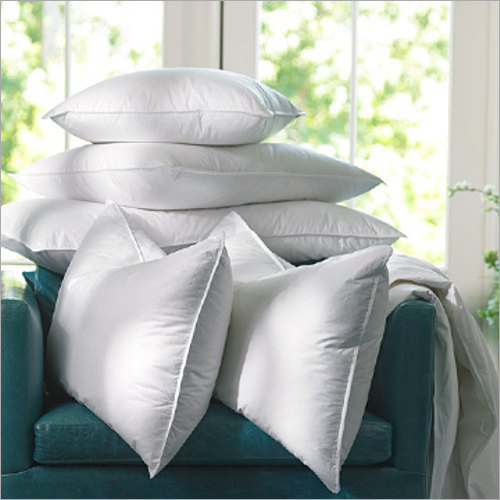Recron Fiber White Pillow
