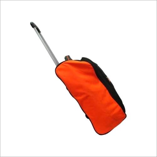 Orange trolley bags
