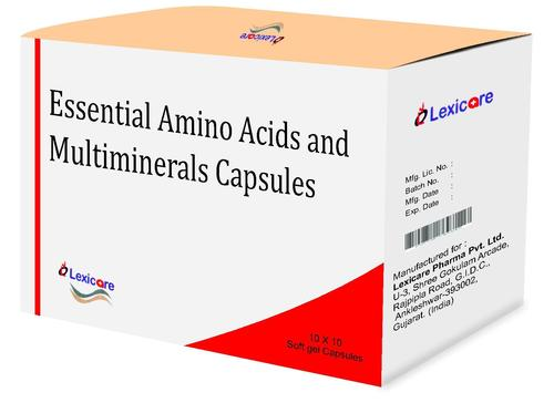 Essential Amino Acid and Multiminerals Softegel Capsules