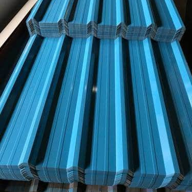 Hi Rib Color Coated Roofing Sheet