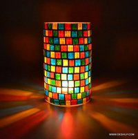 Glass Candles Stand Gifts for Diwali, home decor