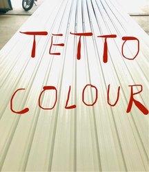 Tetto Colour Coated PVC Glazing Tile Sheets