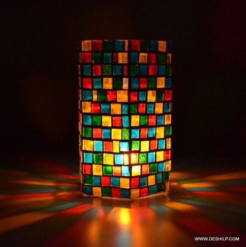 Glass Candles Stand Gifts Home Decor Outdoor Or Indoor Lighting
