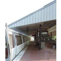 Metro Station Canopy Shed