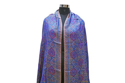 Jamawar Silk scarves