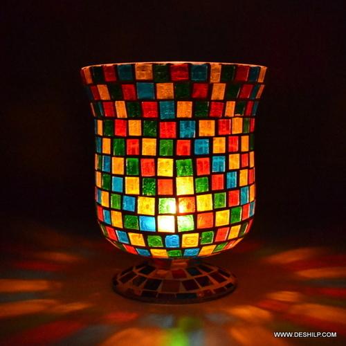 Jar Shape Candle Dia Holder Decoration Lamp Light Lantern I Home decor