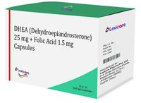 DHEA and Folic Acid Softgel Capsules