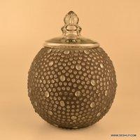 Big Jar Mosaic Jar Clear Glass Candle Display Bowl Jars acrylic spice seasoning food