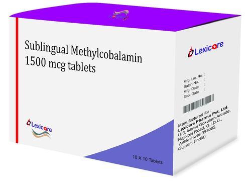 Sublingual Methylcobalamin Tablets