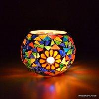 Glass Candle Holders Home Decoration Candle Dia Holder Festival Lamp Lantern Decor Home Multi-scent Votive