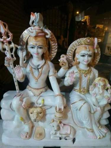 Marble Shiv Parvatai