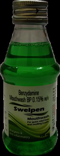 Benzydamine Hydrochloride Mouthwash