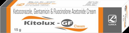 Ketoconazole Gentamicin & Fluocinolone Acetonide Cream