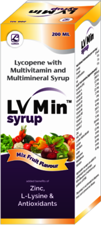 Multivitamin & Multi  Mineral Syrup With Lycopene