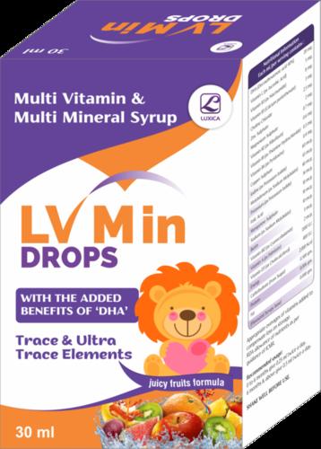 Multi Vitamin & Multi Mineral Drops With Dha