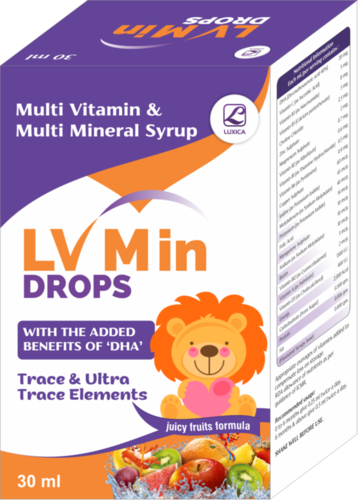Multi Vitamin & Multi Mineral Drops With Dha