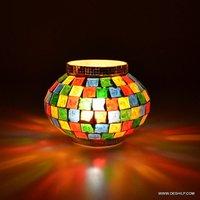 Multi Color Designer Candle Votive Design