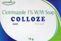 CLOTRIMAZOLE soaps
