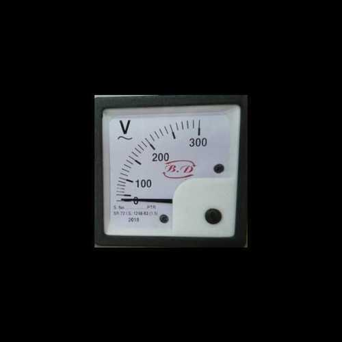 72mm Brass Voltmeter