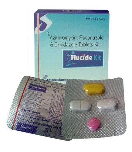 Azithromycin Fluconazole and Ornidazole Kits
