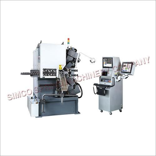 3.0-8.0mm 7 Axes Modularized CNC Spring Coiler