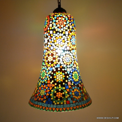 Mosaic Hanging Lamps Multi Desgin Mosaic Glass Hanging