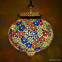 Big Mosaic Glass Decor Shape Wall Hanging