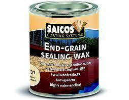 END GRAIN SEALING WAX