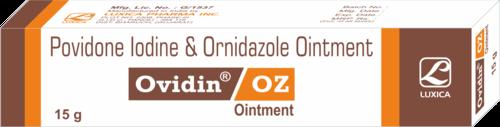 Povidone Iodine & Ornidazole Ointment
