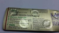 aclclovir dispersible tablets