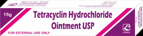 Tetracyclin Hydrochloride Ointment