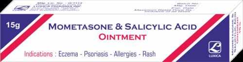 Mometasone & Salicylic Acid Ointment